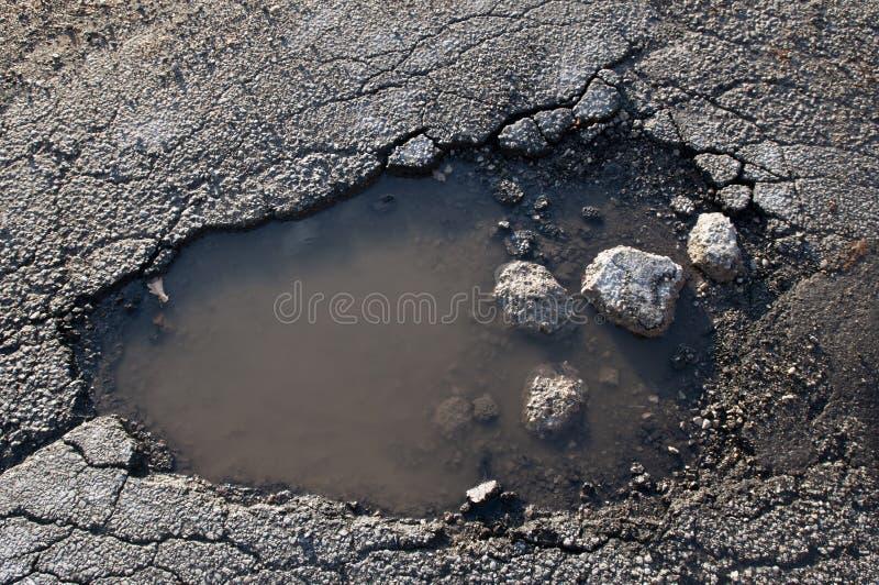 Fix the Pothole! stock image