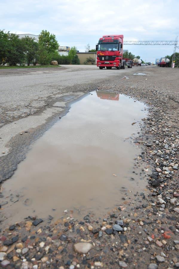 potholes photographie stock