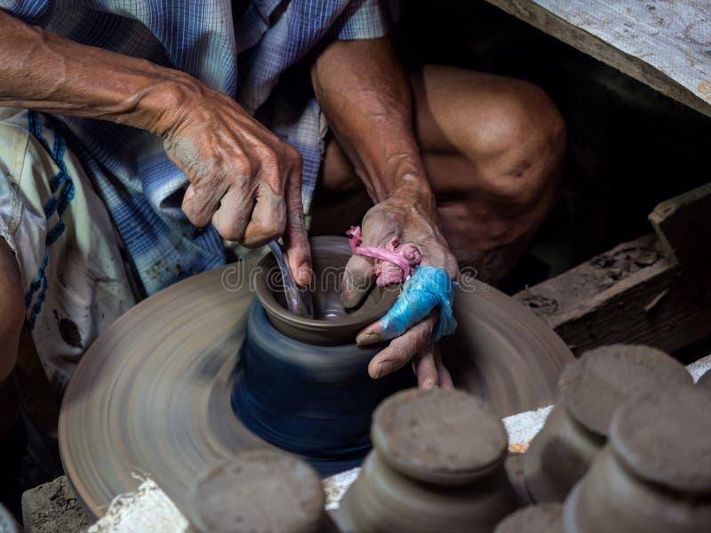 Potier, sculpteur photo libre de droits
