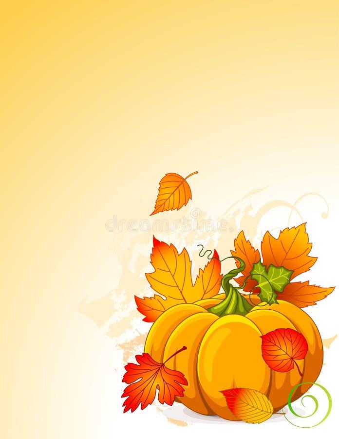 Potiron d'automne illustration stock