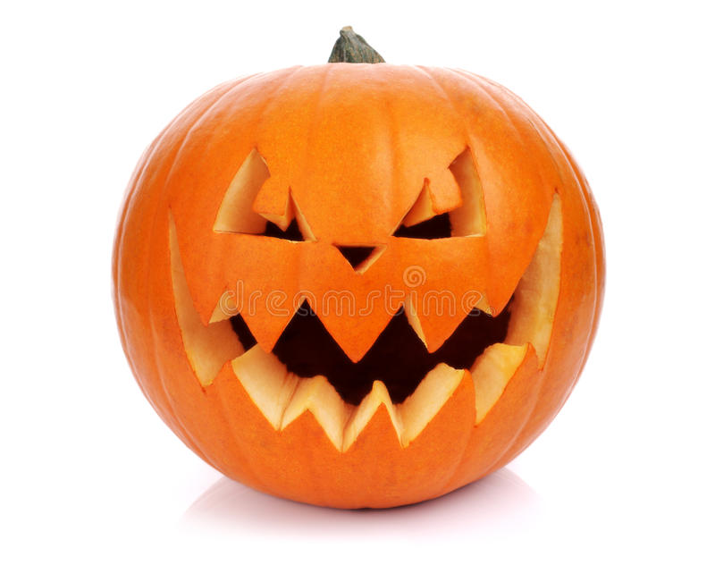 Potiron de Halloween photo stock