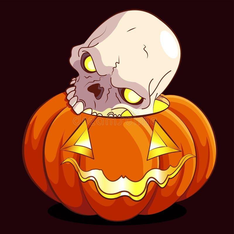 Potiron de Halloween illustration libre de droits