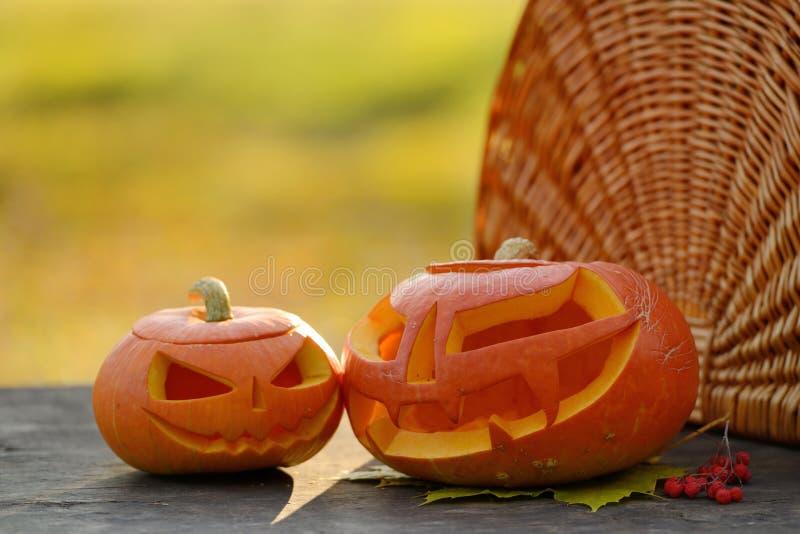 Download Potiron De Halloween Sur Les Planches En Bois Photo stock - Image du stationnement, orange: 45360902