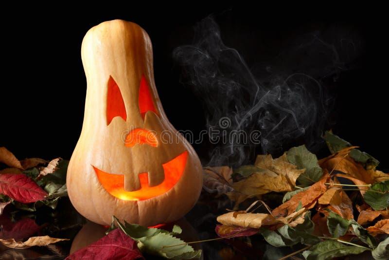 Potiron de sourire Halloween photos stock