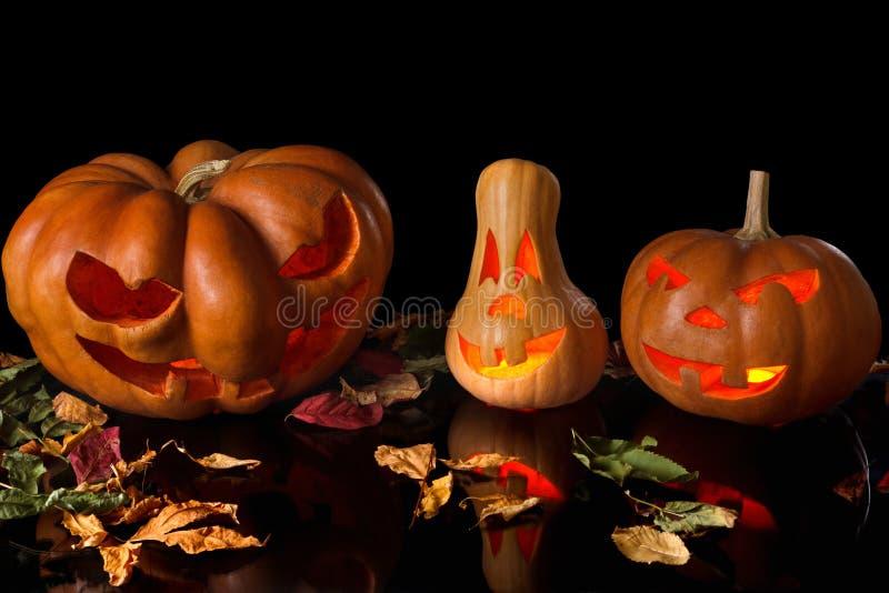 Potiron fantasmagorique Halloween images stock