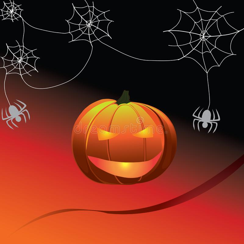 Potiron Halloween illustration libre de droits