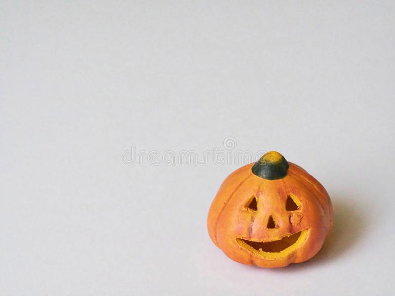 Potiron Jack de Halloween 0 décorations de lanterne de ` photo stock