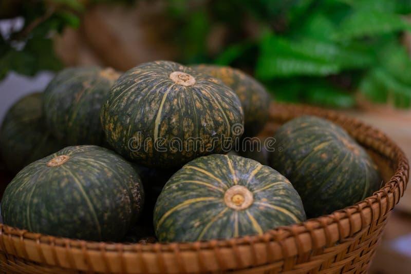 Potiron japonais : Fruits tropicaux de l'Asie photographie stock libre de droits