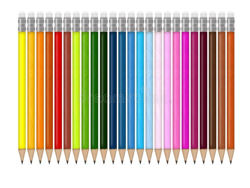 potloden stock illustratie