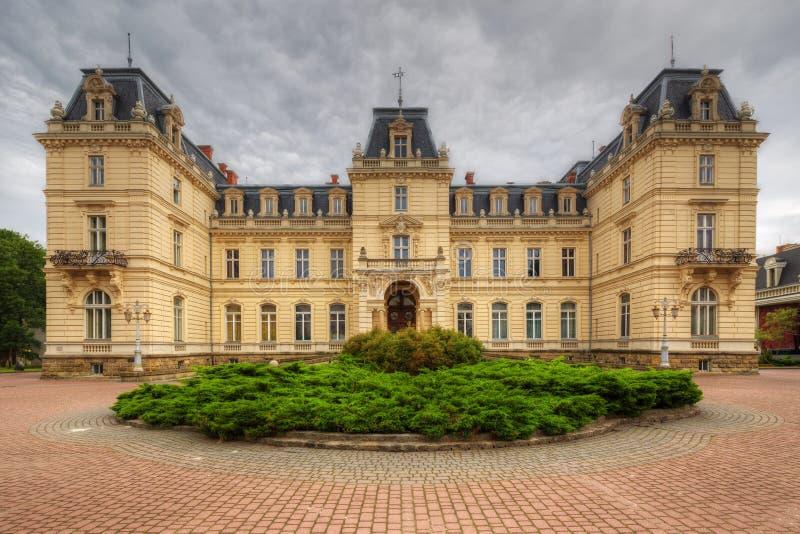 Potocki pałac w Lviv, Ukraina - zdjęcie stock