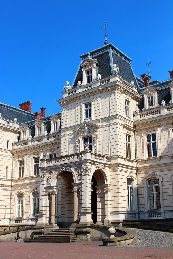Download Potocki Pałac, Lviv, Ukraina Zdjęcie Stock - Obraz złożonej z historia, turystyka: 57674728