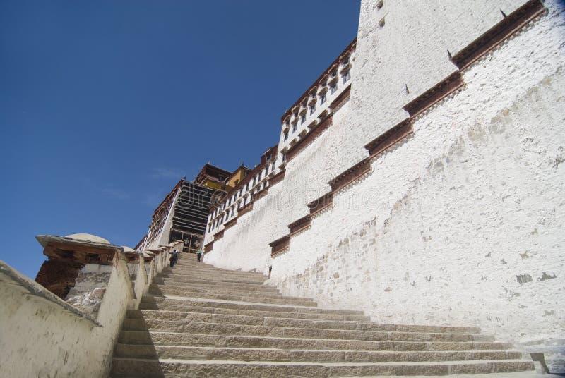 potola Тибет дворца стоковое изображение