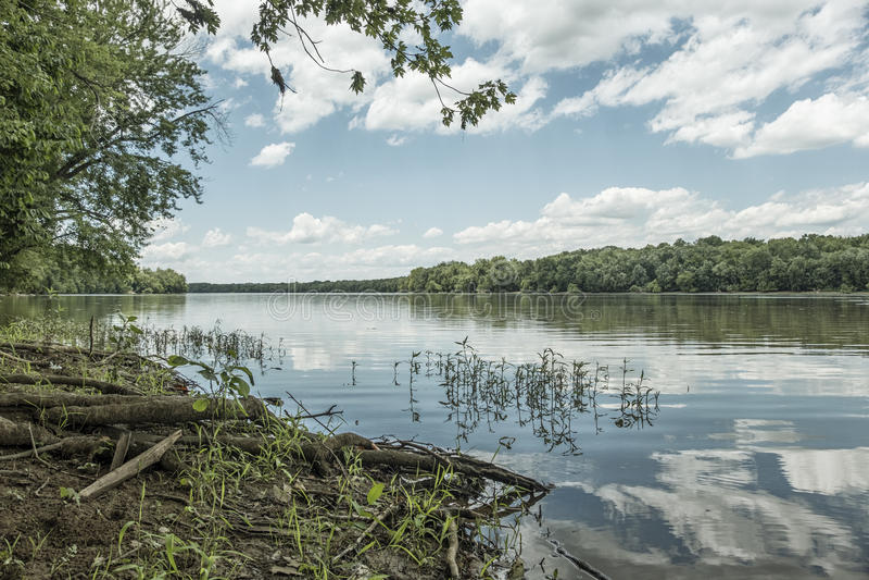 Potomac River arkivfoto