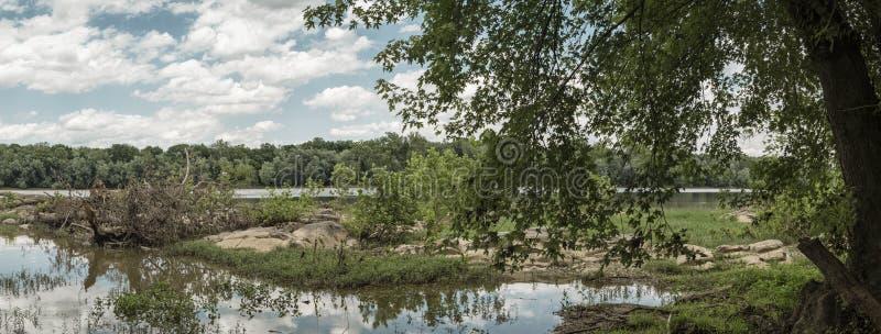 Potomac River royaltyfria foton