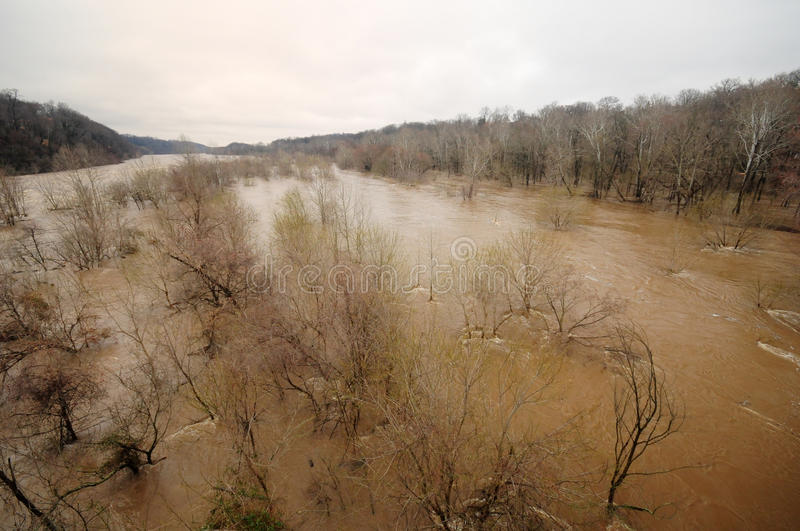 Download Potomac River Flood, March 2010 Editorial Stock Image - Image: 13428029
