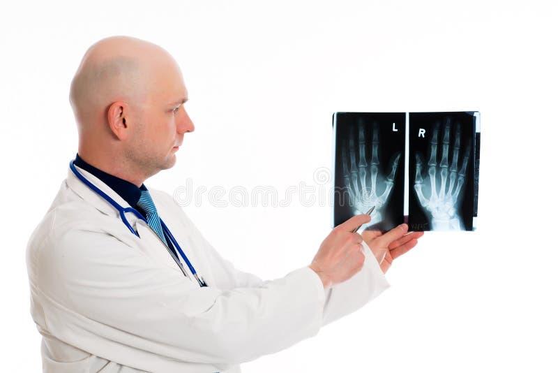 Potomstwa fabrykują z Radiologiczną fotografią obraz royalty free