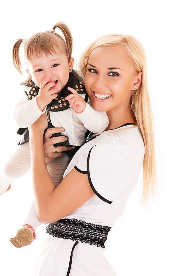 Potomstwa matka i córka obrazy royalty free
