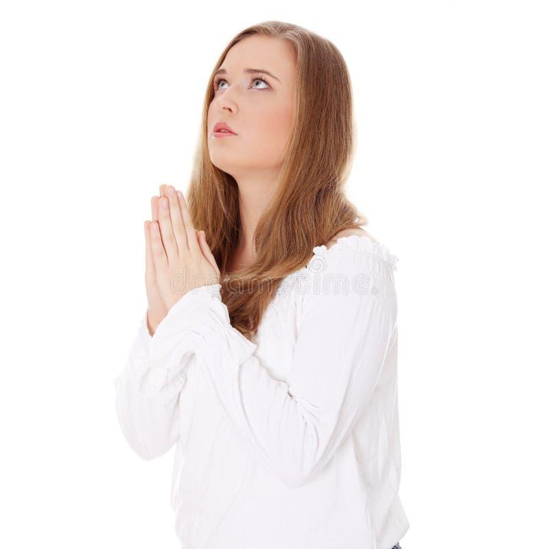 potomstwa modlenia kobiety potomstwa obrazy royalty free