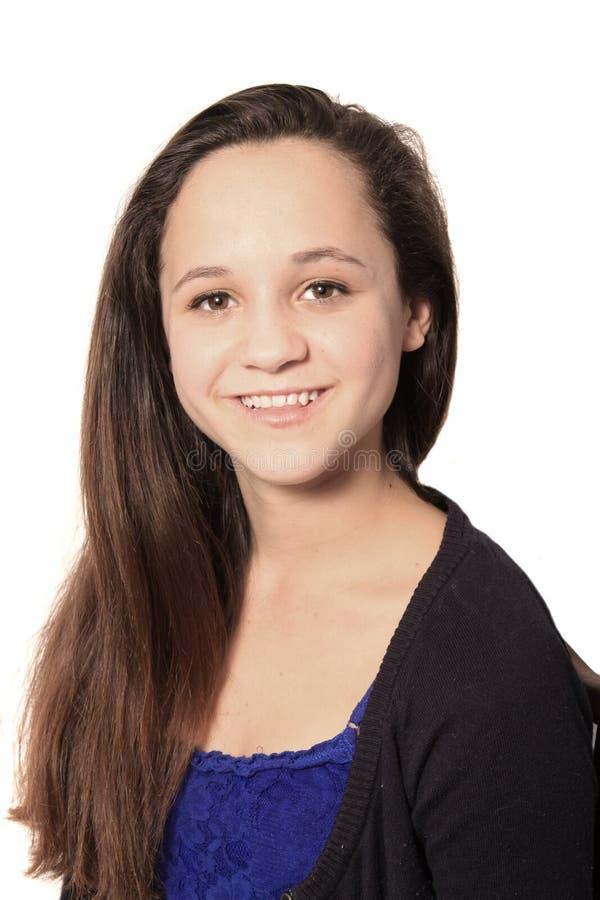 Potomstwo dosyć nastoletnia dziewczyna obrazy royalty free