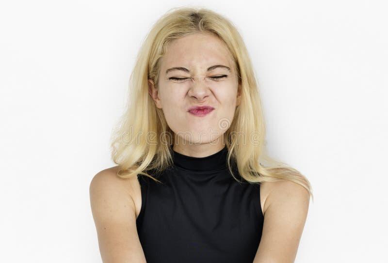 Potomstwo kobiety Dosyć Atrakcyjny Przypadkowy pojęcie obraz stock