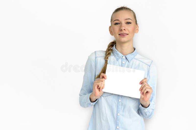 Potomstwo kobiety Dosyć Atrakcyjny Przypadkowy pojęcie zdjęcie stock