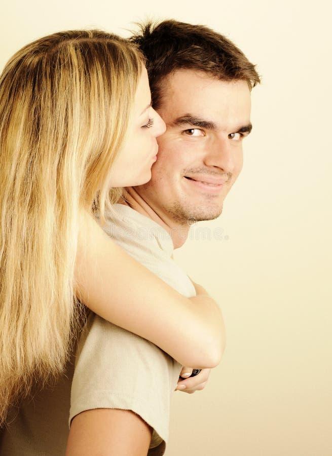 Potomstwo para w miłości obrazy stock