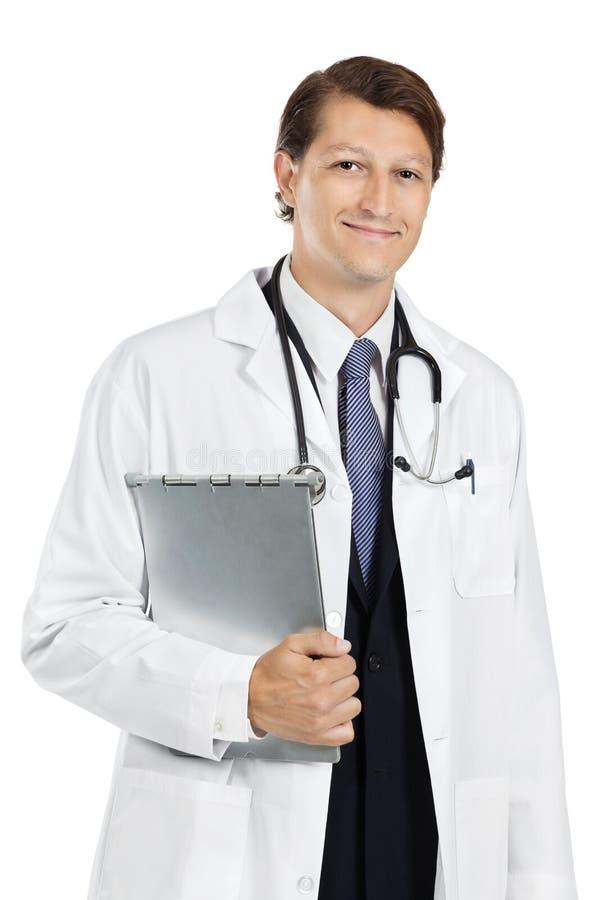 Potomstwo przystojna lekarka obrazy stock