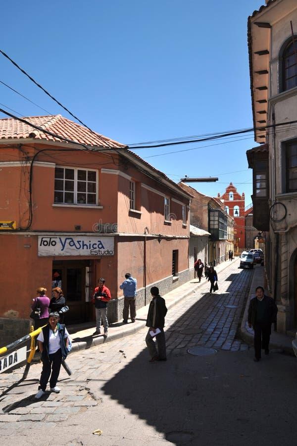 Potosi bolívia imagem de stock royalty free