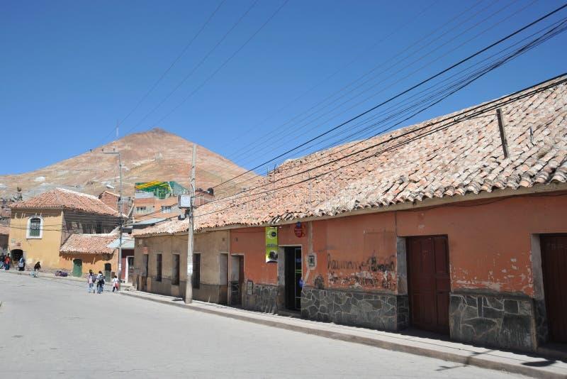 Potosi bolivië royalty-vrije stock fotografie