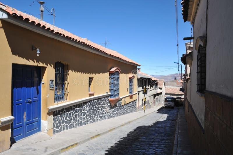 Potosi bolivia imagen de archivo