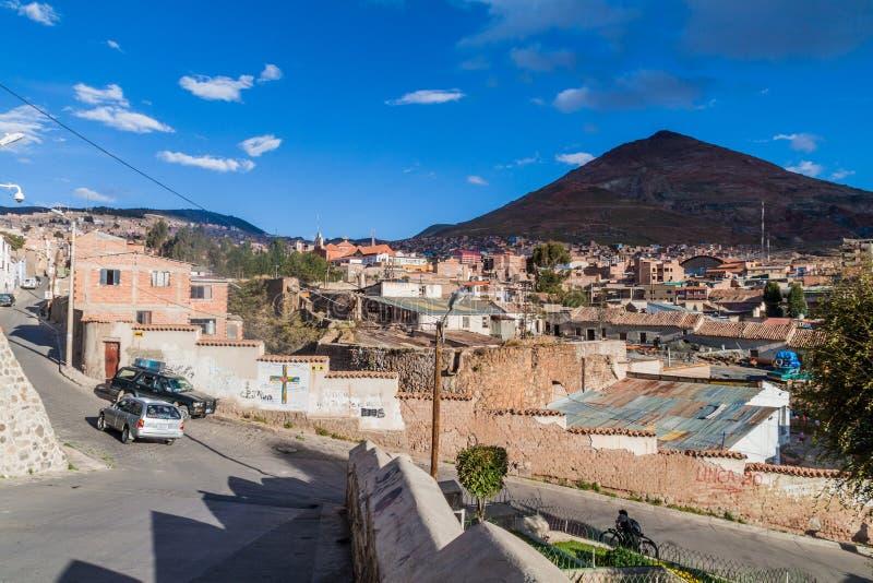 Potosi, Bolivia royalty free stock photo