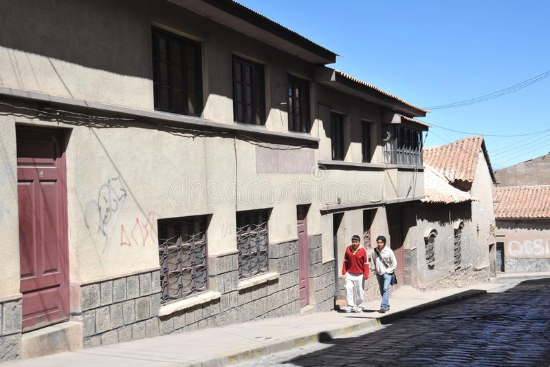Potosi. Bolivia stock photos