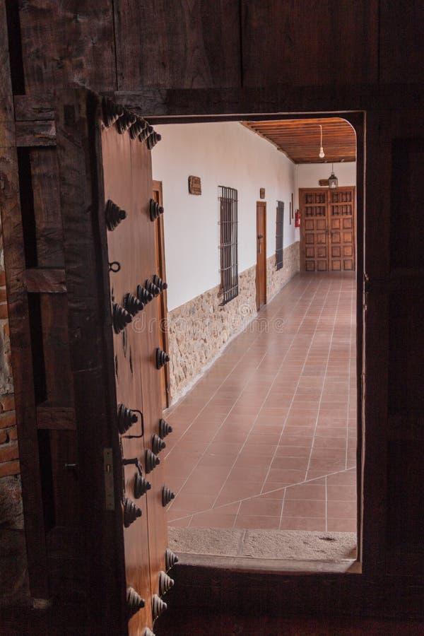 POTOSI, BOLIVIE - 19 AVRIL 2015 : Entrée au monastère de Convento De Santa Teresa, Potosi, Boliv images stock