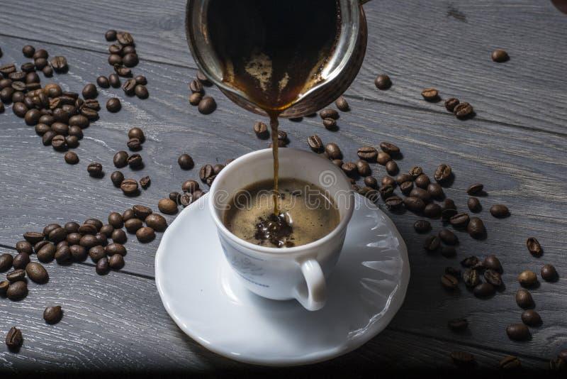 Potrójna mieszanki kawa zdjęcie stock