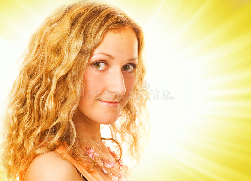 Download Potrait Of A Beutiful Girl Stock Images - Image: 2435524