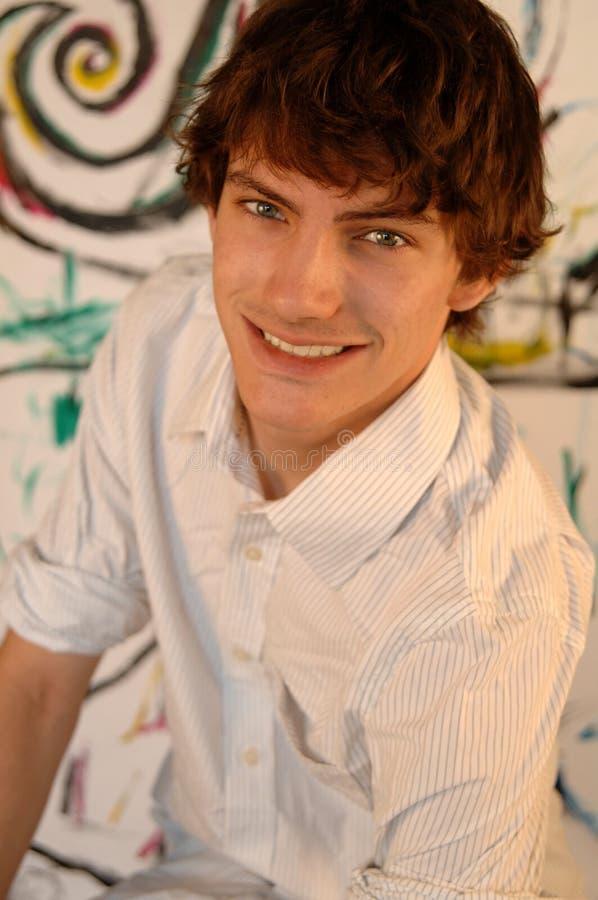 Potrait del hombre joven foto de archivo libre de regalías