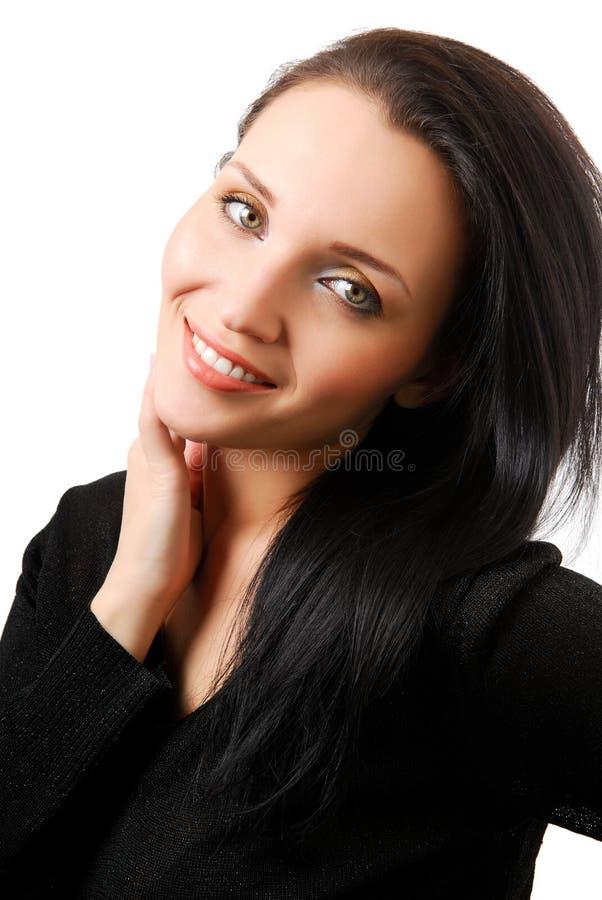 Potrait des schönen Mädchens lizenzfreies stockbild