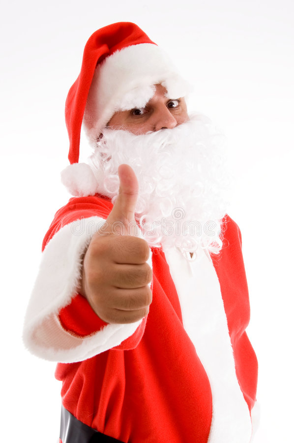 Download Potrait of santa clause stock photo. Image of attractive - 7419360