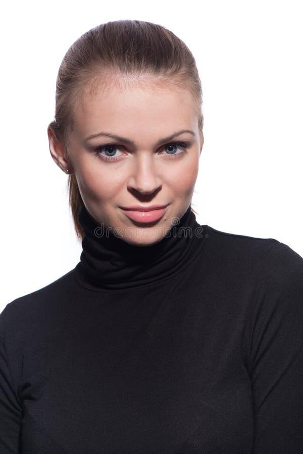Potrrait de jeune belle femme photographie stock libre de droits
