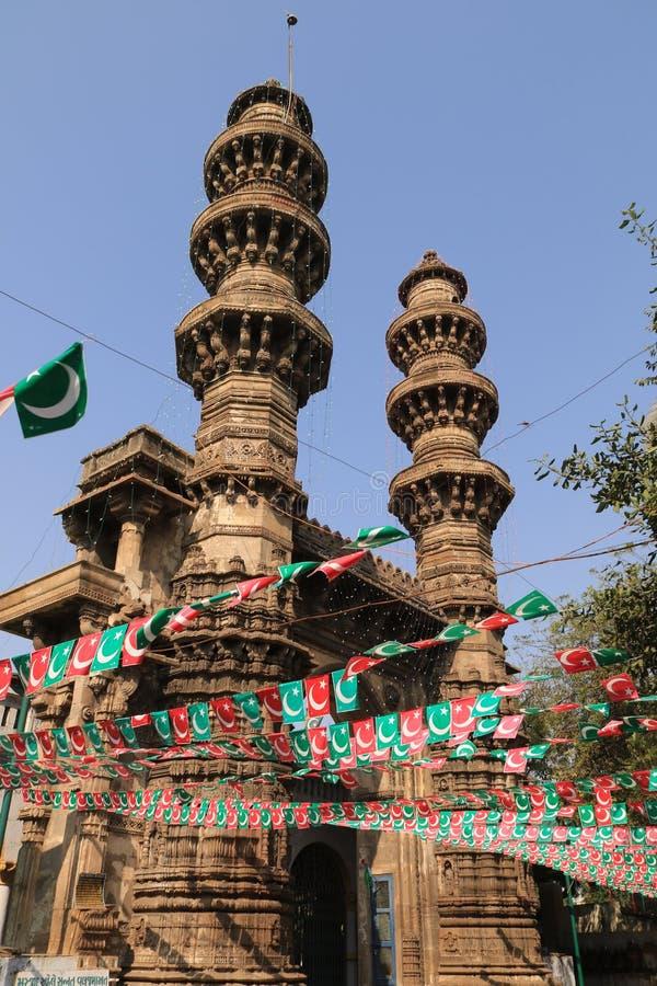 Potrząsalni minarety obrazy stock