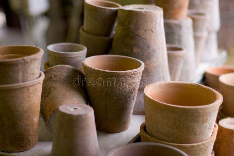 Download Pots stock image. Image of light, spring, herb, ceramic - 1329409