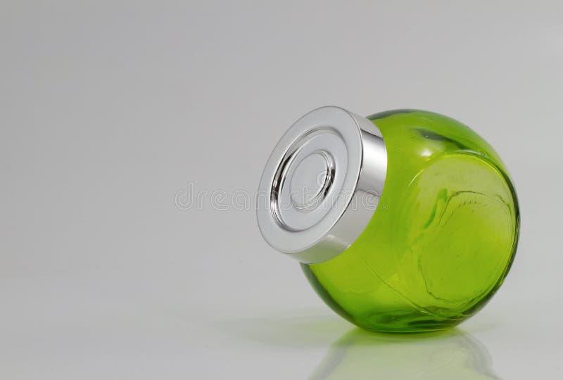 Pots de couleur verte images stock