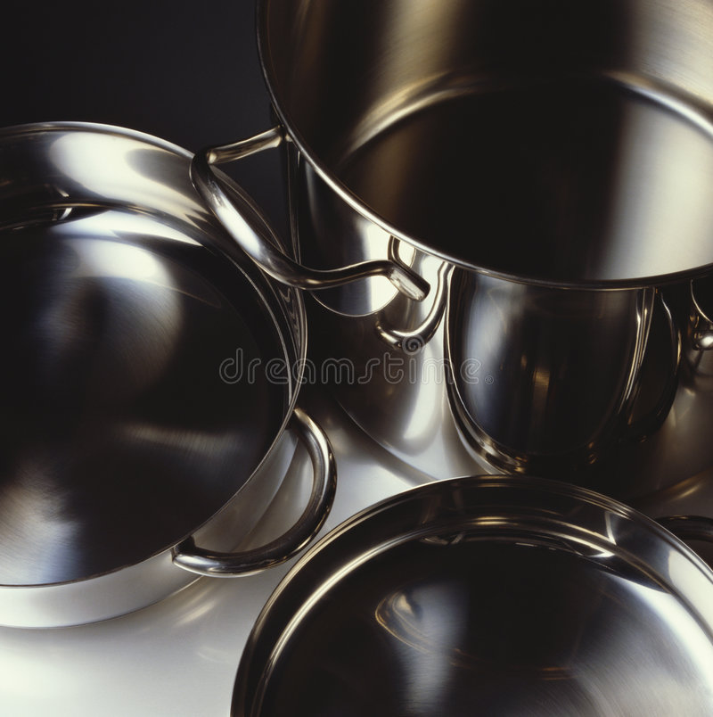 Download Pots and pans stock image. Image of cookware, steel, kitchenware - 7675065