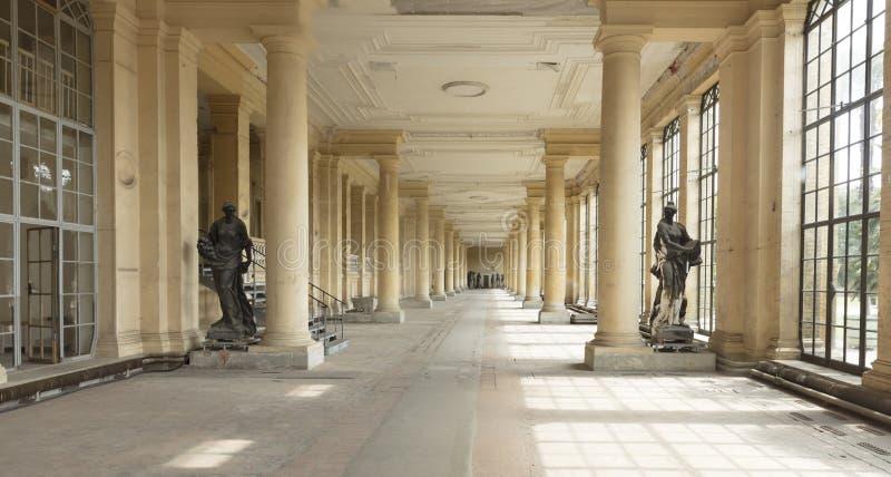 Potsdam, Berlijn, Duitsland, 17 Augustus 2017, Oranjeriepaleis in S royalty-vrije stock fotografie