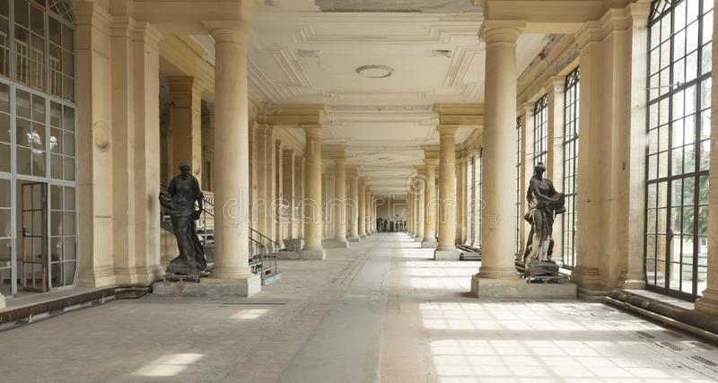 Potsdam, Berlin, Germany, 17th August 2017, Orangery Palace in S royalty free stock photography