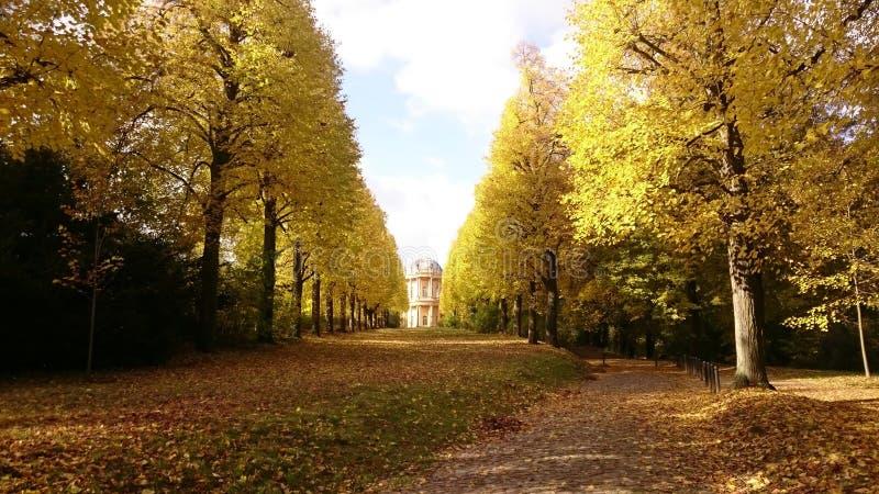 Potsdam jesień obrazy stock