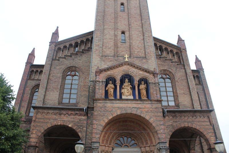 Potsdam, Kerk van St Peter en Paul stock afbeeldingen