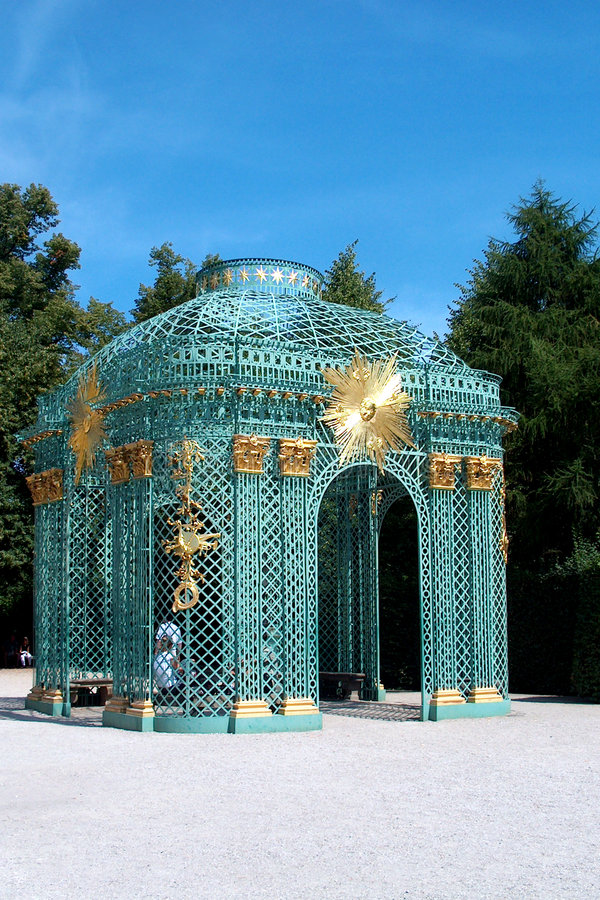 Download Potsdam - San Souci stockbild. Bild von blau, türkis, gebäude - 28747
