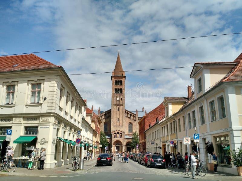Potsdam stary miasteczko fotografia royalty free