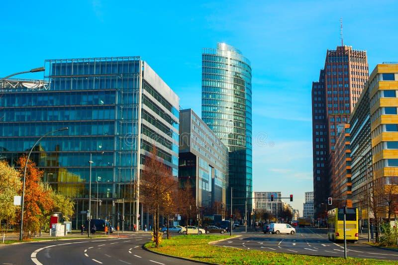 Potsdamer Platz, Βερολίνο στοκ εικόνες